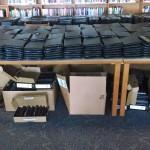 Hundreds of Laptops