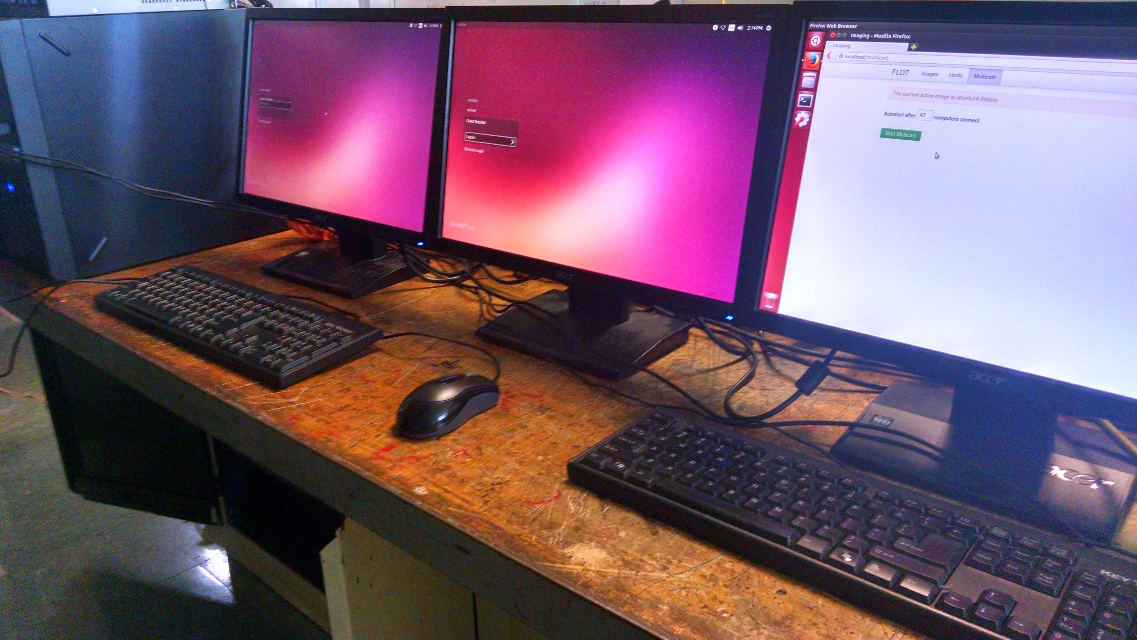Ubuntu Imaging Stations